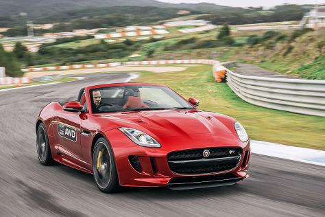 Jaguar F-Type AWD (2025): Fahrbericht