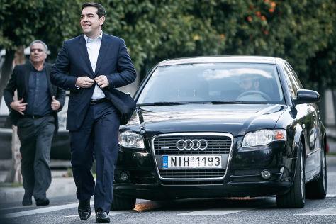 Griechischer Regierungschef Alexis Tsipras