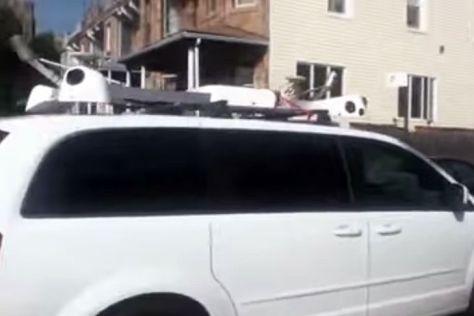 Mysteriöses Apple-Auto mit Kameras