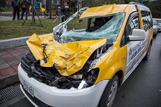 Autofahrer filmen Absturz