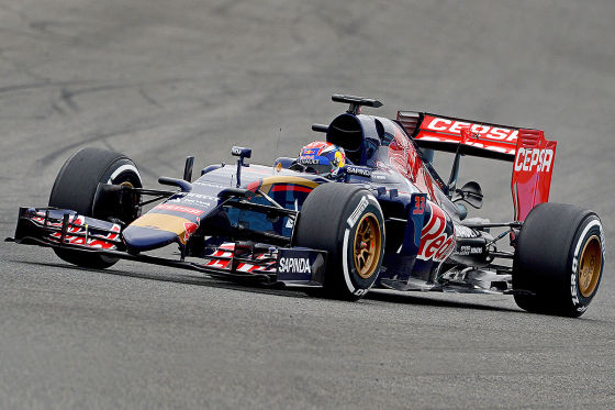Max Verstappen bei den Tests in Jerez