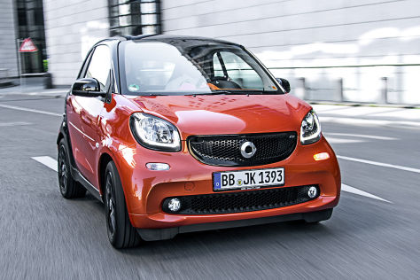 Smart Fortwo Twinmatic (2015): Fahrbericht
