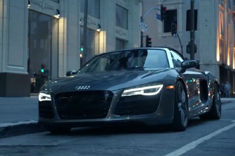 Audi Werbung Fifty Shades of Grey R8