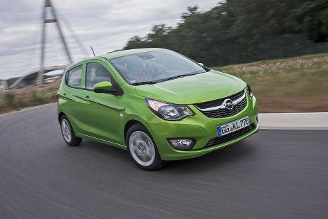 Opel Karl (Autosalon Genf 2015): Sitzprobe