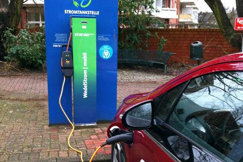 Förderung von E-Autos in Frankreich