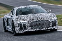So f�hrt der neue Audi R8