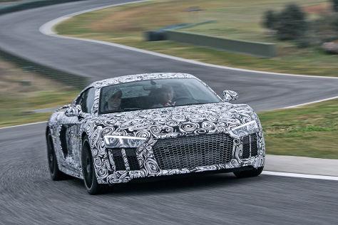 Audi R8 (2015): Mitfahrt