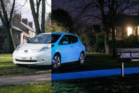 Nissan Leaf: Sonderlackierung