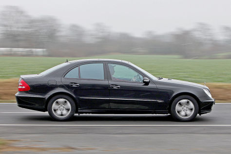 Mercedes E Klasse  Kompressor Test