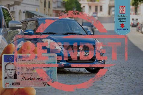 Suzuki Führerschein Aktion