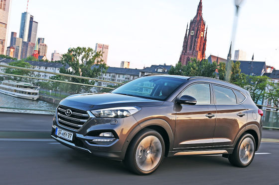 hyundai tucson erste fahrt im neuen korea suv. Black Bedroom Furniture Sets. Home Design Ideas