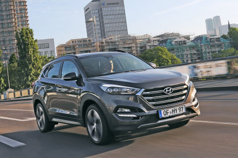 Hyundai Tucson (Autosalon Genf 2015): Sitzprobe
