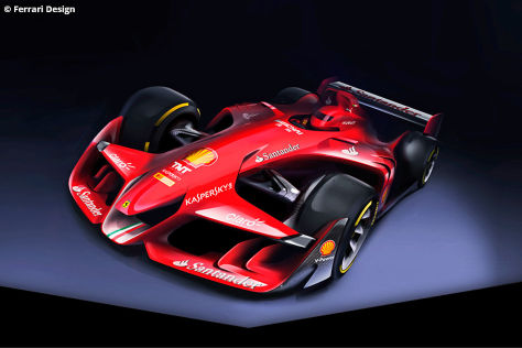 ferrari formula 1 concept 2015 formel 1 ferrari der. Black Bedroom Furniture Sets. Home Design Ideas