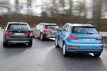 Dreikampf um die Kompakt-SUV-Krone