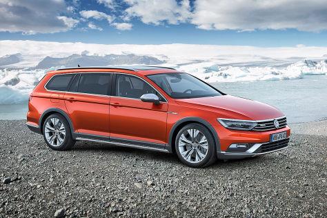 VW Passat Alltrack (Genf 2015): Vorschau