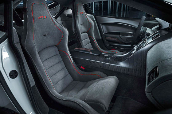 Aston Martin Vantage GT3 Innenraum