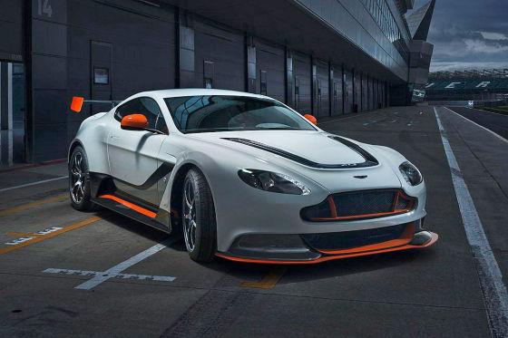 Aston Martin Vantage GT3 Seitenansicht