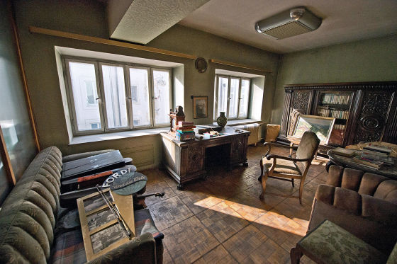 Büro des Gründers Otto Hausmann im 1. Stock
