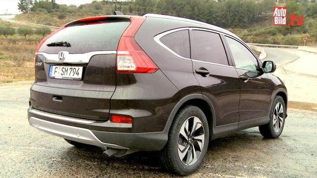 Video Honda Cr V Facelift 2015 Autobild De