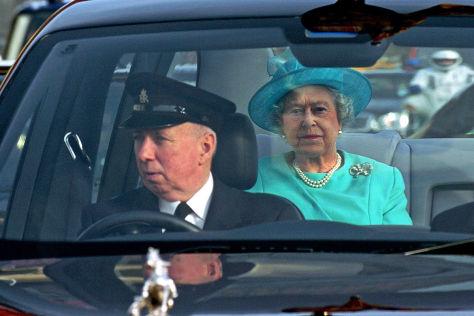 Stellenanzeige des Buckingham Palace