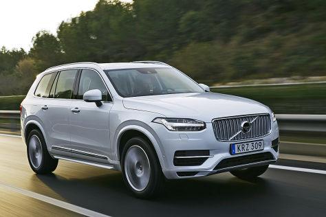 Volvo XC90 Plug-in-Hybrid: Fahrbericht