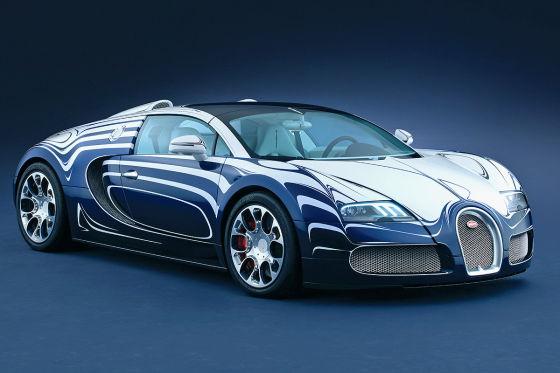 Bugatt Veyron Grand Sport L`Or Blanc