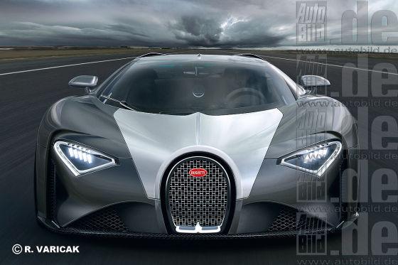Bugatti Chiron Illustration