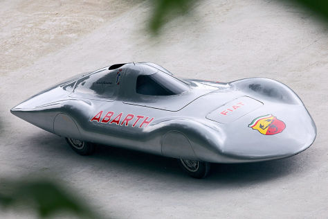 Abarth Monoposto Pininfarina Record Car