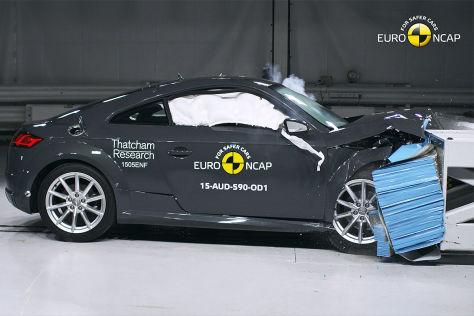 Audi TT (2015): Euro NCAP Crashtest