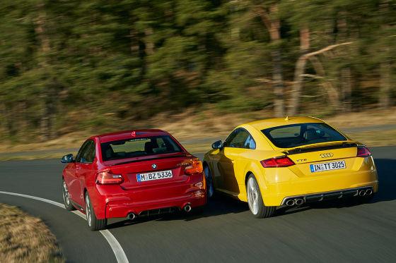 Audi TTS BMW M235i