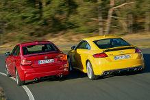Cooler Audi gegen hei�en BMW