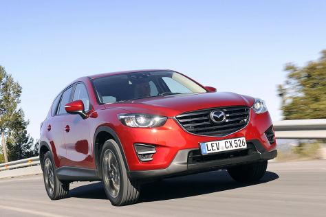 Mazda CX-5 Facelift (2015): Fahrbericht