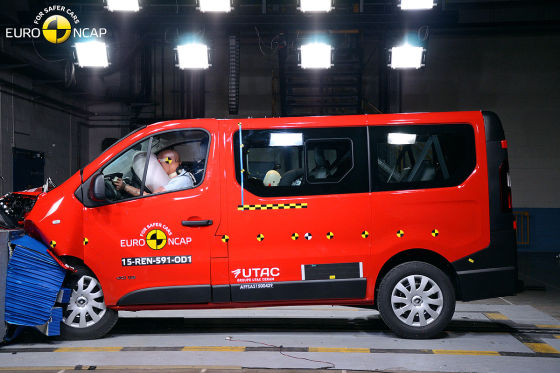 opel vivaro renault trafic euro ncap crashtest februar. Black Bedroom Furniture Sets. Home Design Ideas