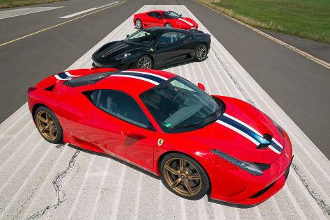 Ferrari: Gestern & Heute