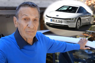 Mr. Spock fuhr Einliter-Auto