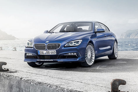 Alpina B6 Biturbo Gran Coupe Facelift: Genf 2015