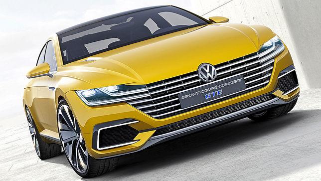VW Sport Coupé Concept GTE (Genf 2015): Sitzprobe - autobild.de
