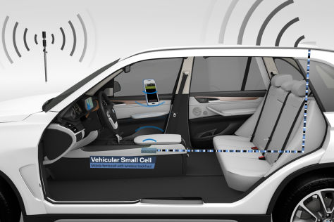 "BMW zeigt ""Vehicular Small Cell""-Projekt"