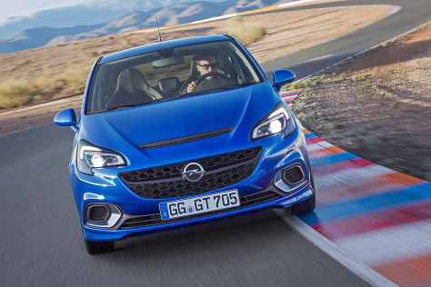 Opel Corsa OPC (Genf 2015): Mitfahrt