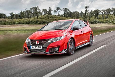 Honda Civic Type R (Autosalon Genf 2015): Sitzprobe