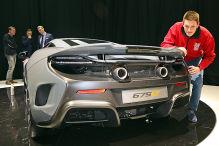 McLaren dreht auf