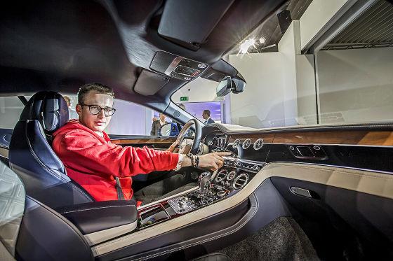 Vater Porsche, Mutter Bentley