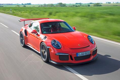 Porsche 911 GT3 RS mit Peter R. Fischer