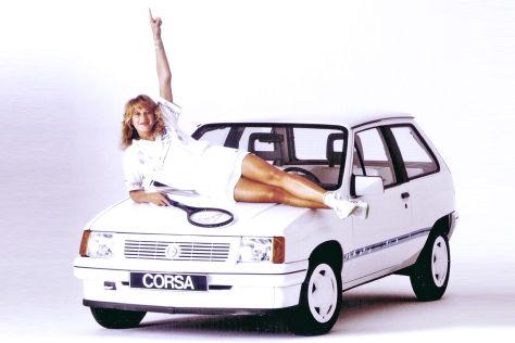Sondermodell Opel Corsa Steffi Graf
