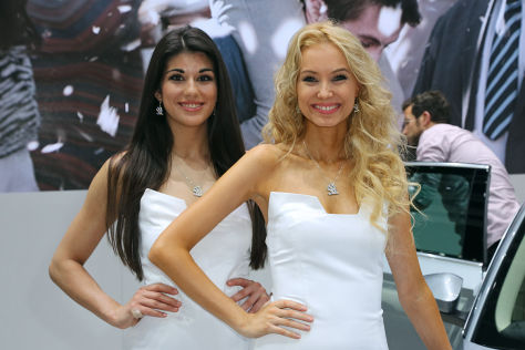 Autosalon Genf 2015: Hostessen
