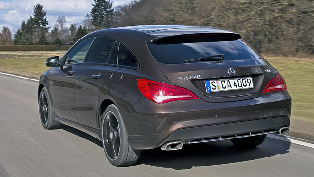 video mercedes cla shooting brake. Black Bedroom Furniture Sets. Home Design Ideas