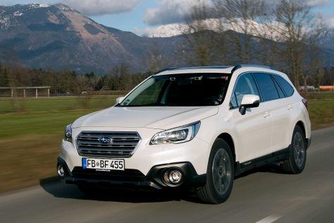 Subaru Outback (2015): Fahrbericht