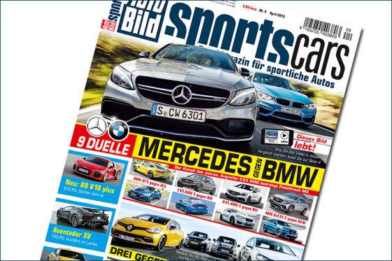 AUTO BILD SPORTSCARS 4/2015