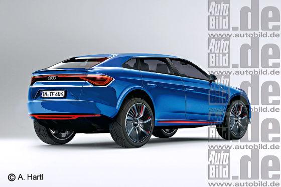 Audi Q6 Concept Iaa 2015 Elektro Suv Studie Autobild De