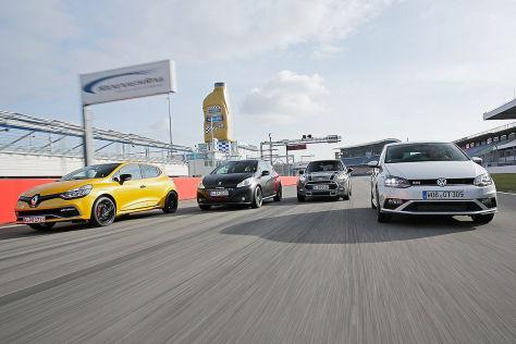 Mini/Peugeot/Renault/VW: Vergleichs-Test